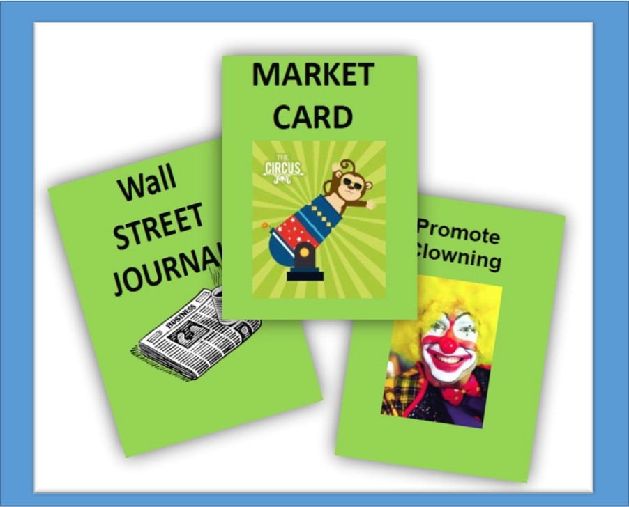 Photo of some ESOP Game cards
